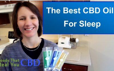 4 CBD Oils For A Good Night of Sleep