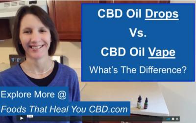 CBD Oil vs CBD Vape Liquid [What's The Difference?]