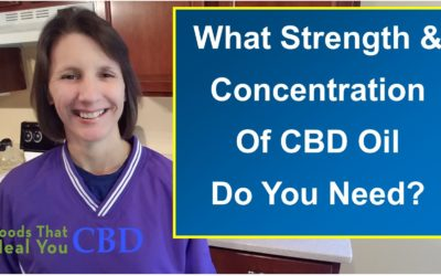 What Strength CBD Do You Need?